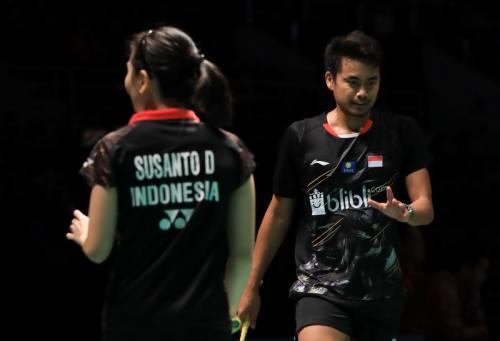 Tontowi Ahmad/Debby Susanto