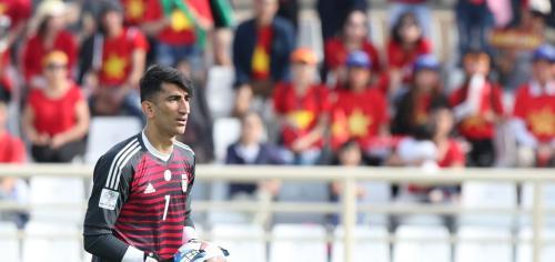 Kiper Timnas Iran (Foto: Laman resmi AFC)