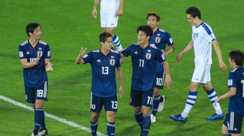 Timnas Jepang vs Uzbekistan (Foto: Laman resmi AFC)
