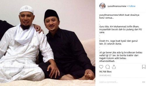 Ustadz Arifin Ilham dan Yusuf Mansur