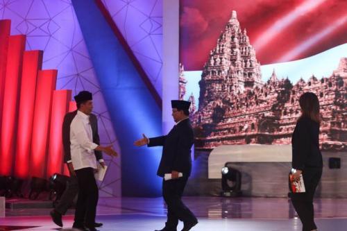 Jokowi pada debat capres perdana