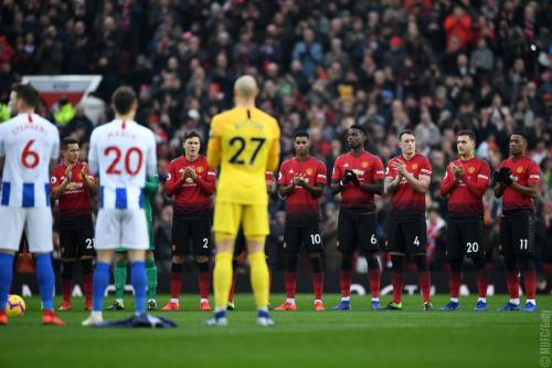 Manchester United vs Brighton (Foto: Twitter Man United)