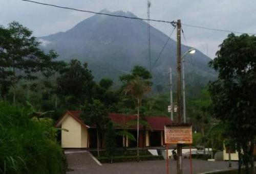 Gunung Merapi. (Foto : Taufik Budi/iNews)