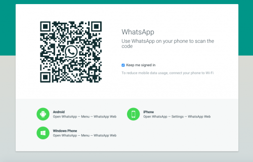 Sebenarnya sudah lama Whatsapp menyediakan sarana ini, yakni supaya Anda para penggunanya bisa memanfaatkan Whatsapp di komputer alias membuka whatsapp web