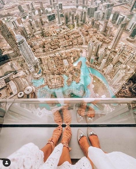 engan tata letak kota yang indah itu membuat Dubai jadi negara yang memiliki tempat instagramable di dunia.