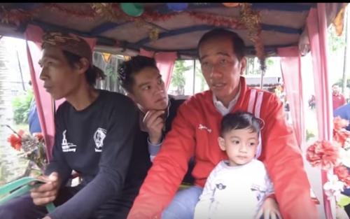 Boy William dan Presiden Joko Widodo