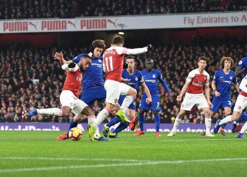 Arsenal vs Chelsea (Foto: Twitter Arsenal)