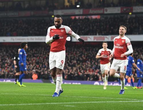 Alexandre Lacazette (Foto: Twitter/@Arsenal)