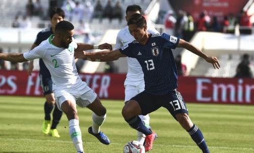 Timnas Jepang vs Arab Saudi (Foto: laman resmi AFC)