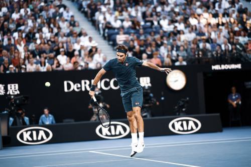 Roger Federer (Foto: Twitter Australia Open)