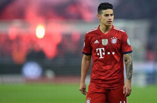 James Rodriguez saat berseragam Bayern