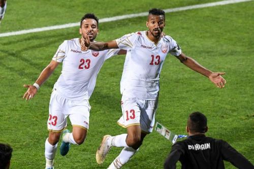 Mohamed Al Romaihi mencetak gol penyeimbang (Foto: AFC Asian Cup/Twitter)