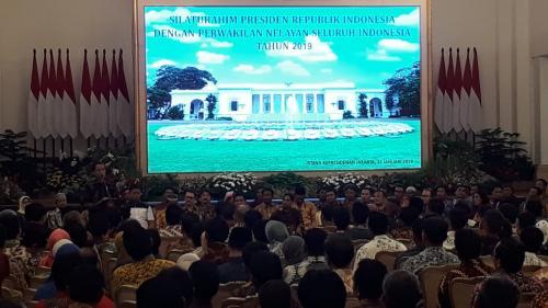 Jokowi bertemu nelayan