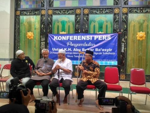 Ponpes Al Mukmin, Ngeruki, Sukoharjo, Jawa Tengah, Besiap Sambut Kepulangan Ustaz Abu Bakar Baasyir (Bram)