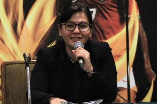 Sekretaris Jenderal PSSI Ratu Tisha Destria