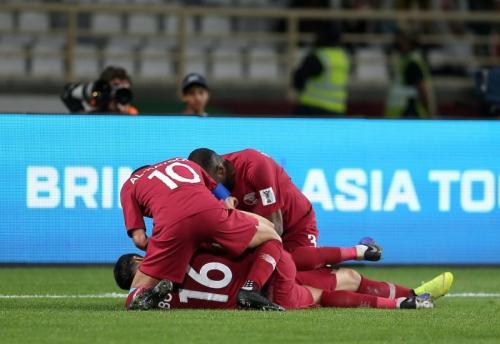 Timnas Qatar vs Irak (Foto: laman resmi AFC)