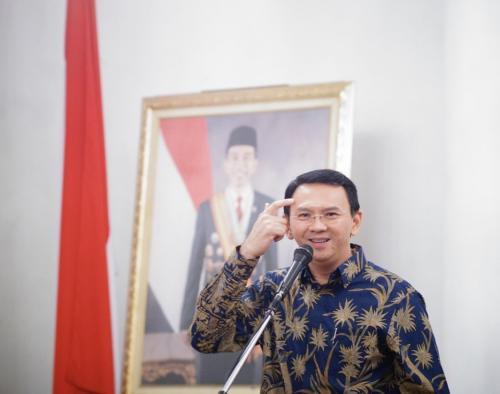 Ahok saat masih menjabat sebagai Gubernur DKI Jakarta