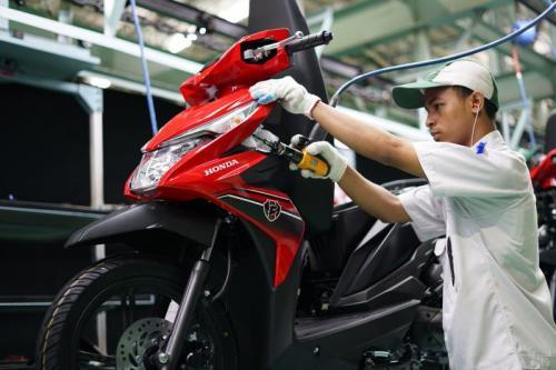 Produksi Honda BeAt