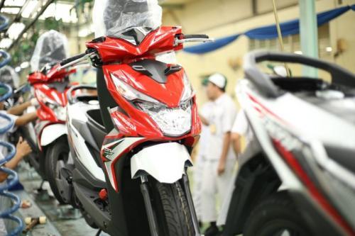 Pabrik Honda produksi BeAt