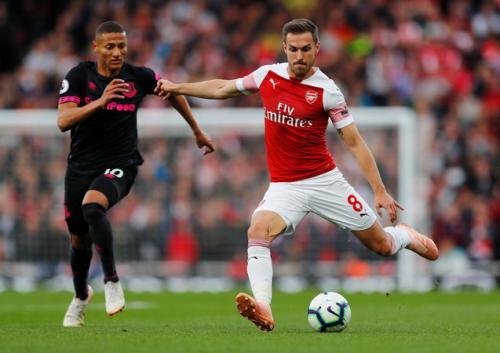 Aaron Ramsey saat di Arsenal