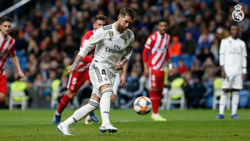 Real Madrid vs Girona (Foto: Twitter/@realmadrid)