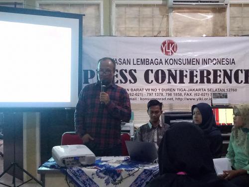 Ketua Pengurus Harian YLKI Tulus Abadi. (Foto: Okezone)