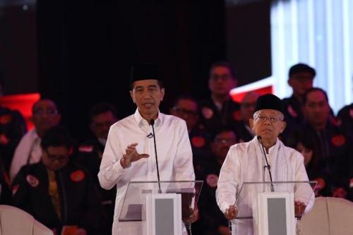 Jokowi-Ma'ruf Amin (Okezone)