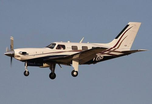 Pesawat yang membawa Sala (Foto: Independent)