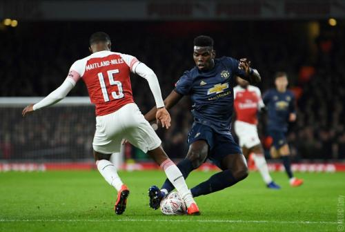 Laga Arsenal vs Manchester United