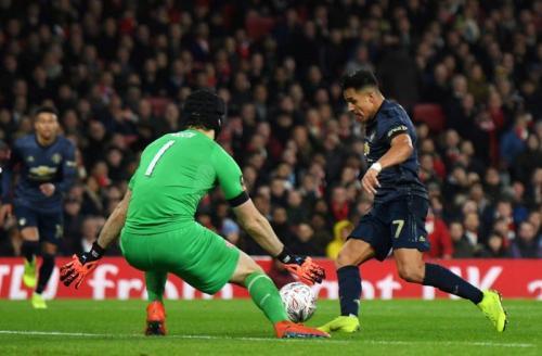 Proses gol Alexis Sanchez