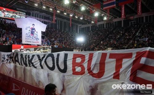 #THANKYOUBUTET (Foto: Okezone/Heru Haryono)