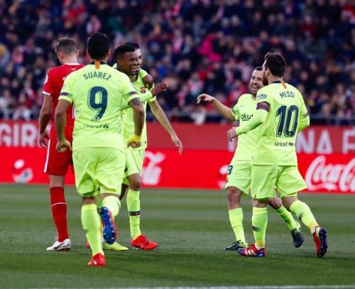 Girona vs Barcelona (Foto: Twitter Barcelona)