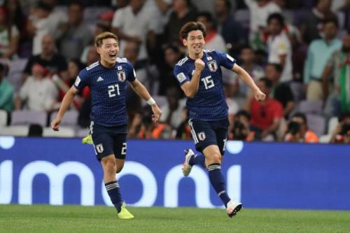 Yuya Osako membuka keunggulan Timnas Jepang (Foto: AFC Asian Cup/Twitter)