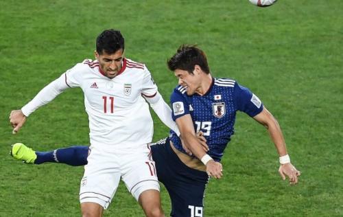 Timnas Iran vs Jepang (Foto: laman resmi AFC)