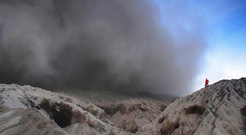 Gunung Dukono. (Foto: Halmahera.com)