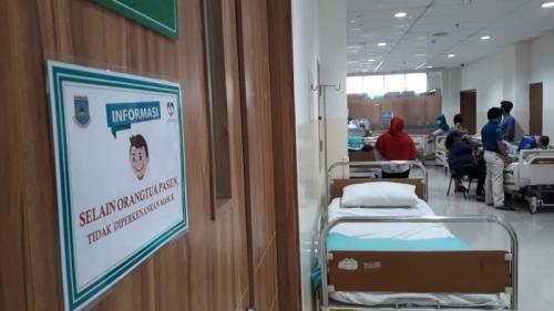 Pasien DBD di Tangsel (foto: Hambali/Okezone)