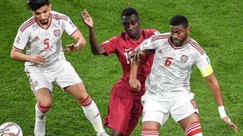 Timnas Qatar vs UEA (Foto: laman resmi AFC)