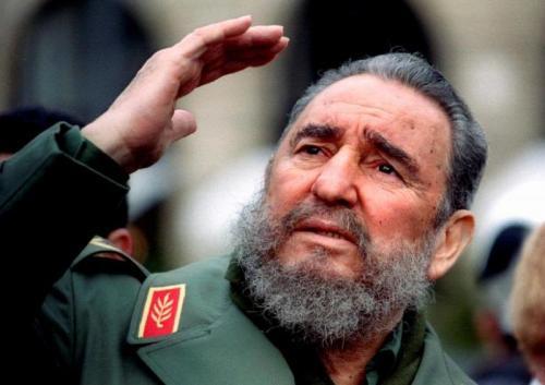 Pemimpin revolusi Kuba Fidel Castro