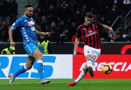 AC Milan vs Napoli (Foto: laman resmi AC Milan)