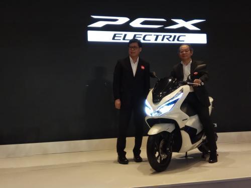 Peluncuran Honda PCX listrik di Indonesia