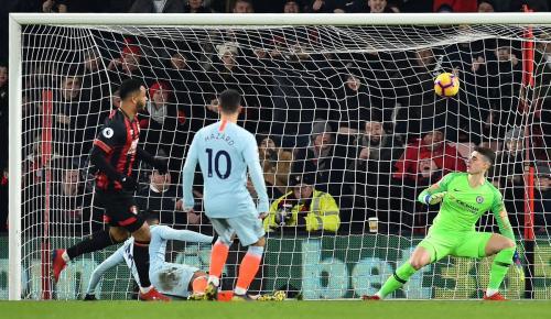 Bournemouth vs Chelsea (Foto: Laman resmi Liga Inggris)