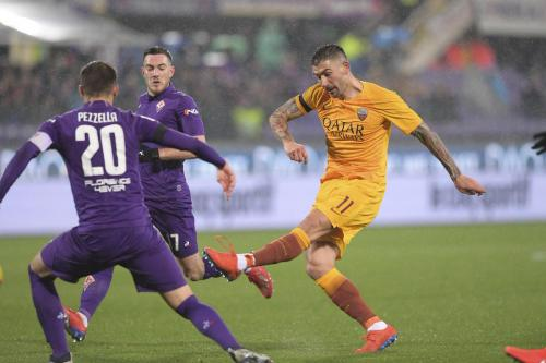 Fiorentina vs AS Roma (Foto: Twitter AS Roma)
