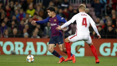 Barcelona vs Sevilla (Foto: Twitter Barcelona)