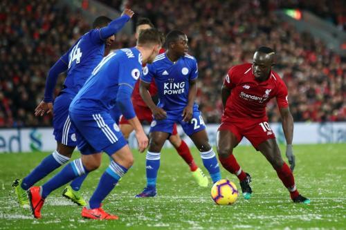 Laga Liverpool vs Leicester City