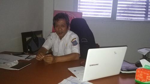 Kepala Bidang Pencegahan dan Pengendalian Penyakit (P2P) Dinas Kesehatan Kota Tangsel, Tulus Muladiono (Foto : Hambali/Okezone)