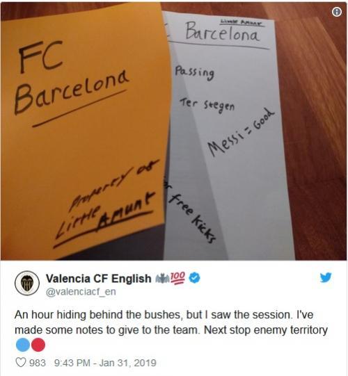 Maskot Valencia