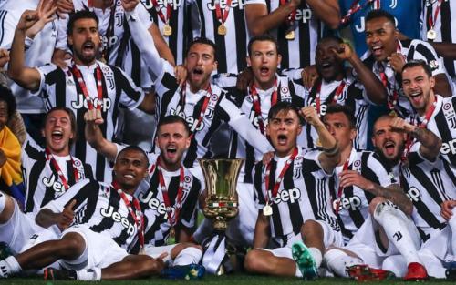 Juventus juara Coppa Italia 2017-2018