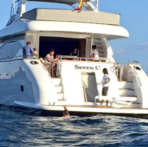 Yacht Lionel Messi