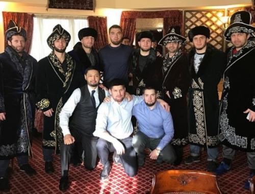 Khabib Nurmagomedov saat di Kazakhstan