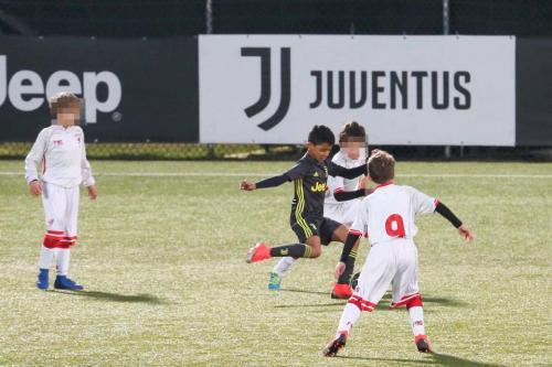 Cristiano Ronaldo Jr bareng tim junior Juventus